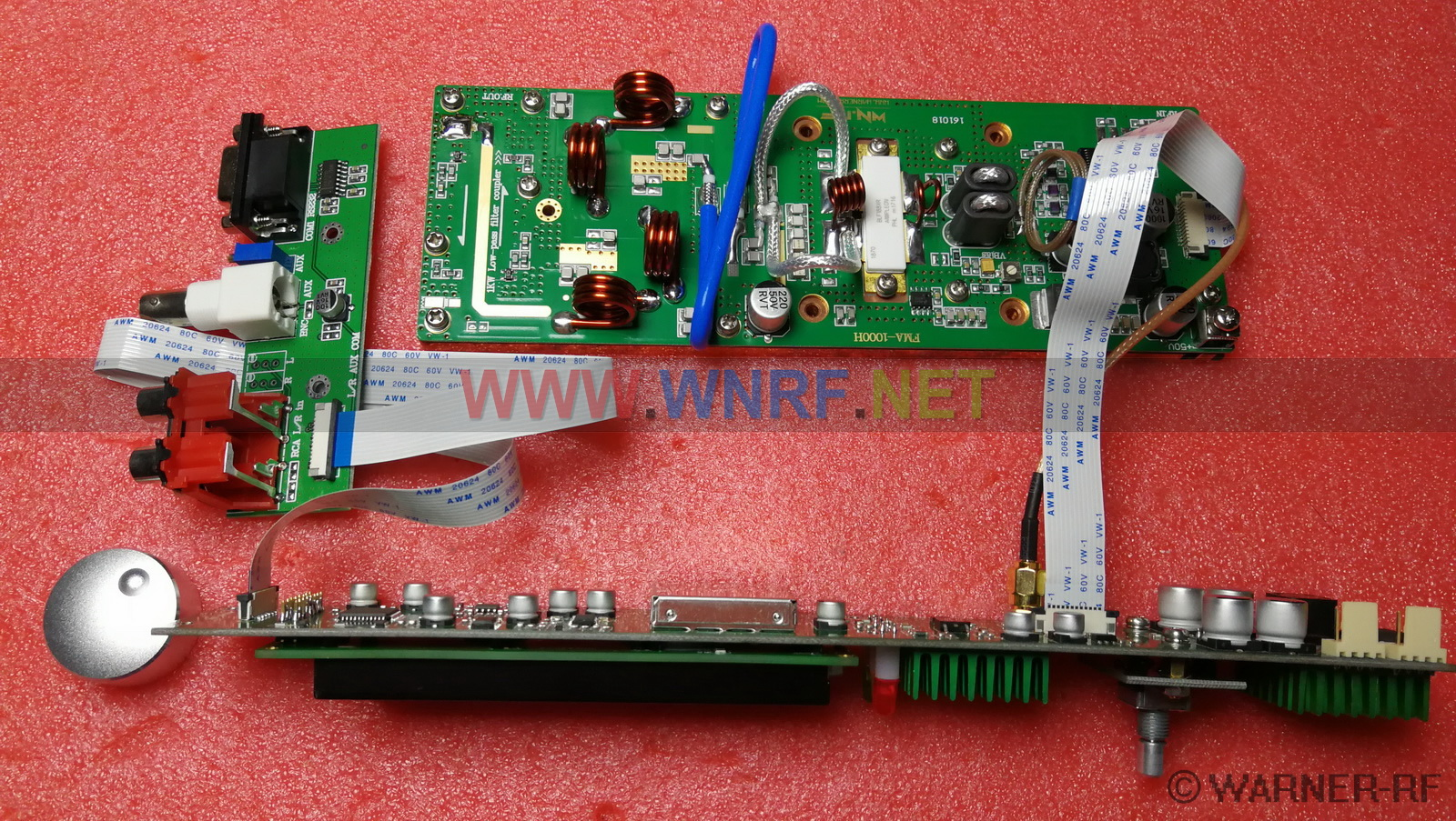 [FMA-1000H] 1000W FM stereo broadcast transmitter PCB KITS - Click Image to Close