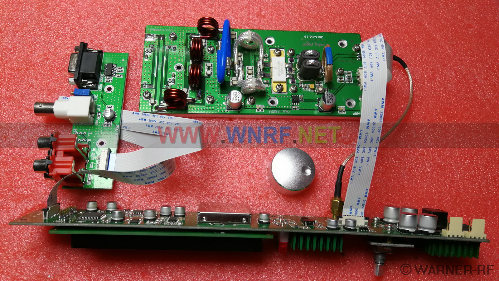 [FMA-350H] 350W FM stereo broadcast transmitter PCB KITS - Click Image to Close